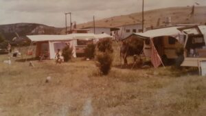 Caravans from 1986, at the beginning of the caravan resort